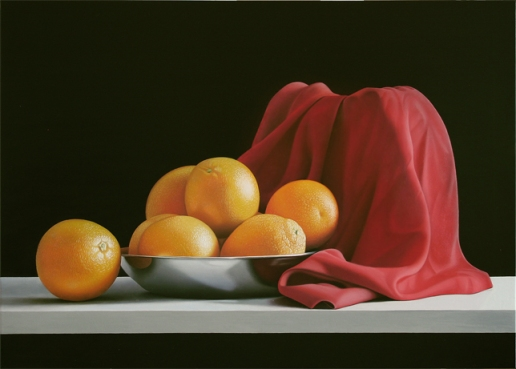 *Sette arance in rosso
